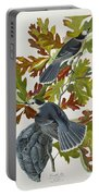 Canada Jay Portable Battery Charger by John James Audubon