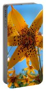 Canada Lily Portable Battery Charger