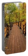 Canadian Autumnal Walkway Portable Battery Charger