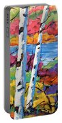 Canadian Birches By Prankearts Portable Battery Charger