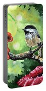 Canadian Chickadee Portable Battery Charger