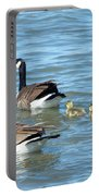 Canadian Geese Family Vacation Portable Battery Charger