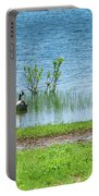 Canadian Geese - Wichita Mountains - Oklahoma Portable Battery Charger