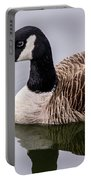 Canadian Goose At Rio Portable Battery Charger