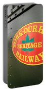 Canadian Heritage Train Portable Battery Charger