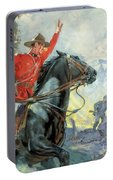 Canadian Mounties Portable Battery Charger