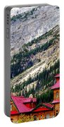 Canadian Red Portable Battery Charger by Karen Wiles