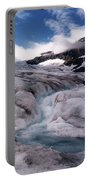 Canadian Rockies Glacier Portable Battery Charger