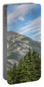 Canadian Rockies Near Kicking Horse Pass Portable Battery Charger