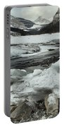 Canadian Rockies Rugged Winter Landscape Portable Battery Charger