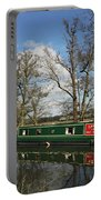 Canal Boat On Wey Navigations Portable Battery Charger