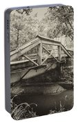 Canal Bridge At Washingtons Crossing Portable Battery Charger