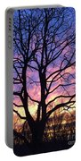 Canal  Winter Sunset  Pt Portable Battery Charger