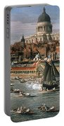 Canaletto: Thames, 18th C Portable Battery Charger