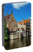 Canals Of Bruges Portable Battery Charger