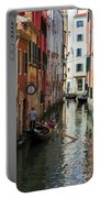 Canals Of Venice Italy Portable Battery Charger