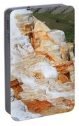 Canary Spring Mammoth Hot Springs Upper Terraces Portable Battery Charger