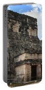 Cancun Mexico - Chichen Itza - Temples Of The Jaguar On The Great Ball Court Portable Battery Charger