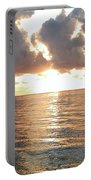 Cancun Sunrise Portable Battery Charger