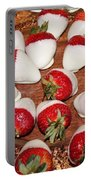 Candied Strawberries Portable Battery Charger