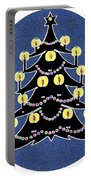 Candlelit Christmas Tree Portable Battery Charger
