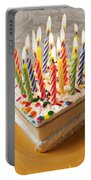 Candles On Birthday Cake Portable Battery Charger