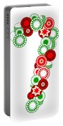 Candy Cane - Christmas Ornaments - Holiday Season Portable Battery Charger