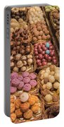 Candy Delights - La Bouqueria - Barcelona Spain Portable Battery Charger