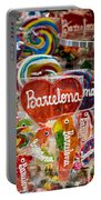 Candy Stand - La Bouqueria - Barcelona Spain Portable Battery Charger