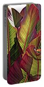 Canna Leaves 2   Portable Battery Charger
