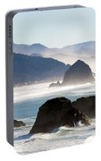 Cannon Beach On The Oregon Coast Portable Battery Charger