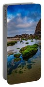Cannon Beach Portable Battery Charger by Rick Berk