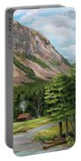 Cannon Cliff New Hampshire Portable Battery Charger