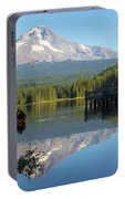 Canoeing At Trillium Lake Portable Battery Charger