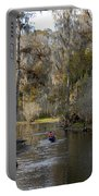 Canoeing In Florida Portable Battery Charger