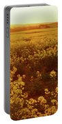 Canola Sunburst Portable Battery Charger