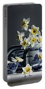 Canton With Daffodils Portable Battery Charger