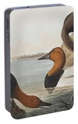 Canvas Backed Duck Portable Battery Charger
