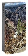 Canyon And Lower Falls Portable Battery Charger