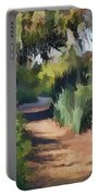 Canyon Path II Painterly Portable Battery Charger