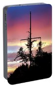 Cape Ann Sunset Silhouettes Portable Battery Charger