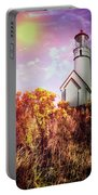 Cape Blanco Lighthouse In Oregon Portable Battery Charger