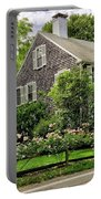 Cape Cod Floral Portable Battery Charger