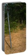 Cape Cod Rail Trail Sign Eastham Path Portable Battery Charger