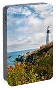 Cape Elizabeth Maine - Portland Head Lighthouse Portable Battery Charger
