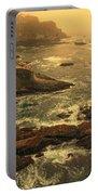 Cape Flattery Misty Morning - Washington Portable Battery Charger