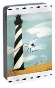 Cape Hatteras Lighthouse - Fish Border Portable Battery Charger