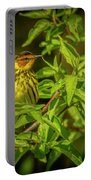 Cape May Warbler Portable Battery Charger