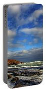 Cape Neddick Lighthouse Portable Battery Charger by Rick Berk