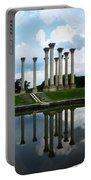 Capitol Columns, National Arboretum Portable Battery Charger